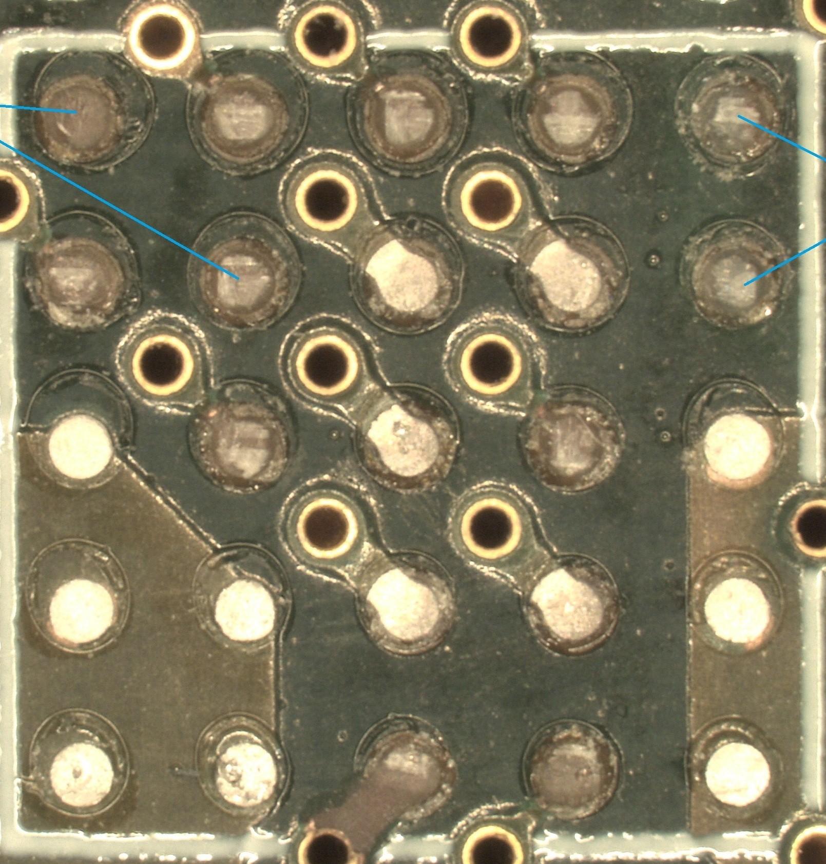 BGA pad repair.